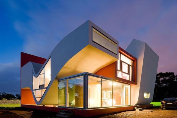 Desain Rumah Masa Depan Unik dan Futuristik | Rancangan