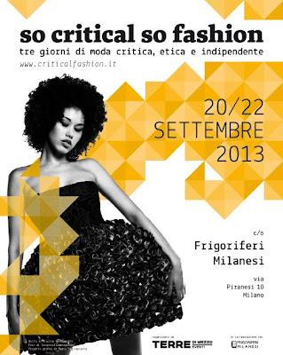 Moda critica a Milano