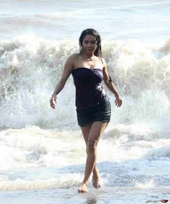 Nikita Rawal Hot Beach Photoshoot