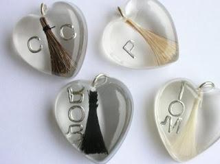 Personalised horse hair jewellery