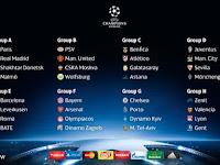 Hasil Drawing Liga Champions 2015-2016 Fase Grup