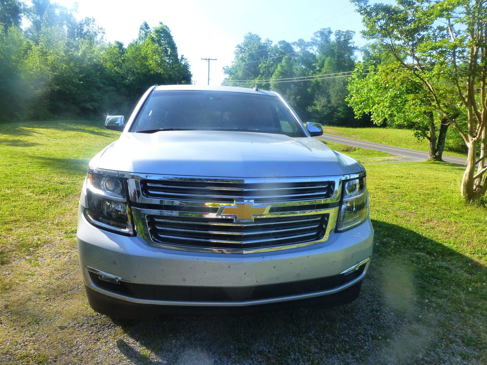 The 2015 Chevrolet Tahoe Ltz Our Whiskey Lullaby Chevy Last Week Family Was Able To Drive Around In Style New Say This An Ordinary Suv Would Be A Complete Lie