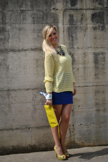 abbinamento giallo blu outfit giallo outfit blu outfit giallo e blu come abbinare il giallo abbinamenti giallo come abbinare il blu abbinamenti blu mariafelicia magno fashion blogger colorblock by felym mariafelicia magno fashion blogger outfit primaverili outfit maggio 2015 outfit gonna blu come abbinare la gonna blu abbinamenti gonna blu blue outfit yellow outfit yellow swaeter blue skirt spring outfit fashion bloggers italy maglione giallo outfit gonna blu blog di moda blogger italiane di moda milano guess majique massimiliano incas