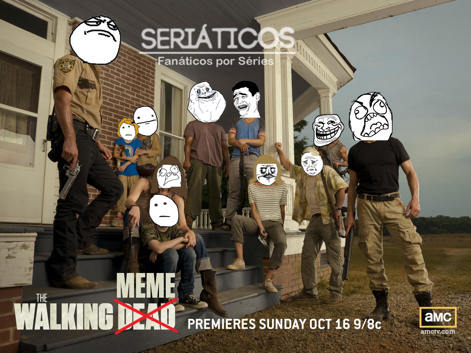 Fan made Vídeos / Memes / Imágenes divertidas (posibles spoilers ritmo sexta) Walking-Dead-Meme-2