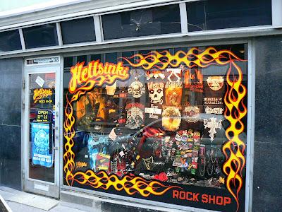 Obiective turistice Finlanda: Hellsinki, Rock Shop, Helsinki