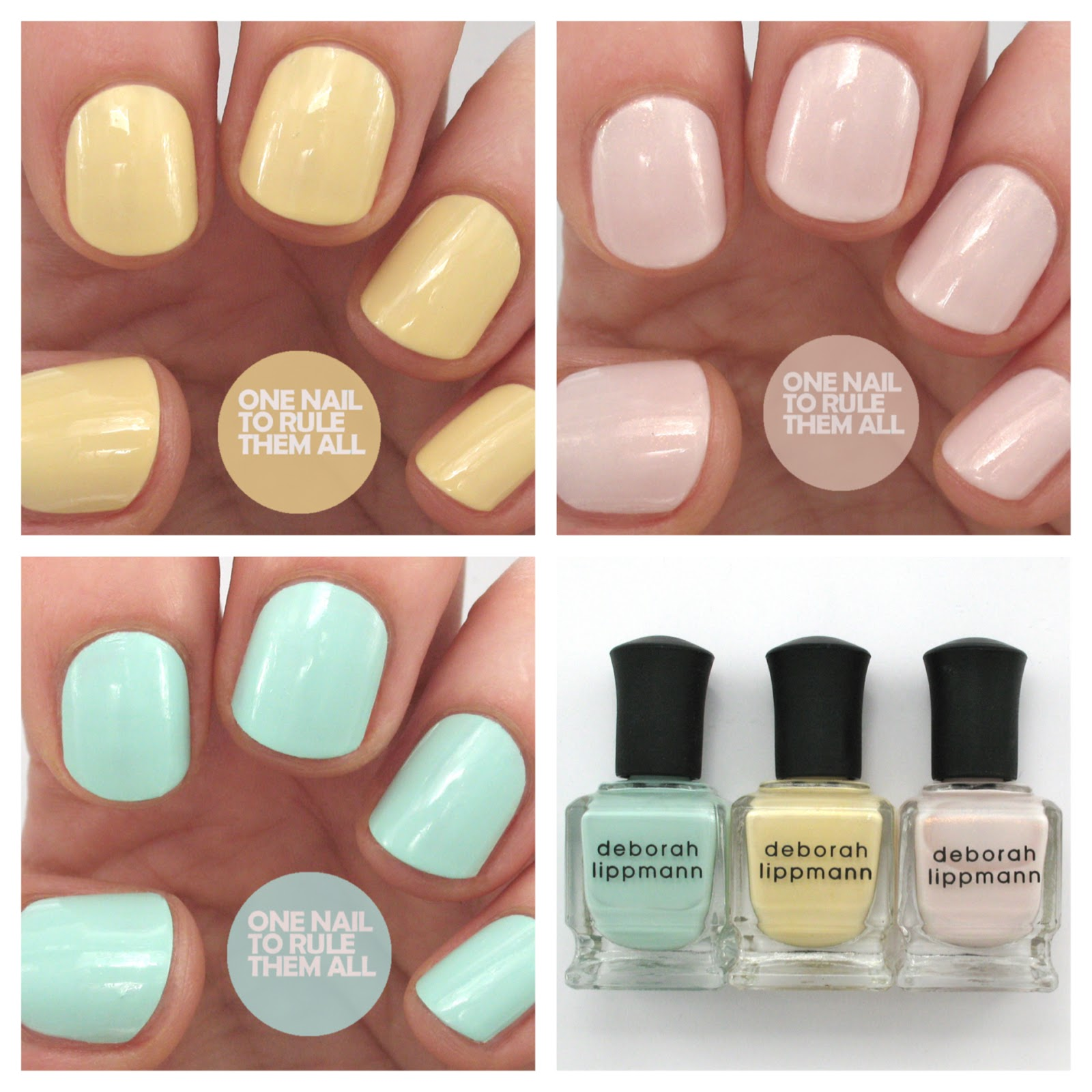 One Nail To Rule Them All: Review Week, Day 2: Deborah Lippmann ...