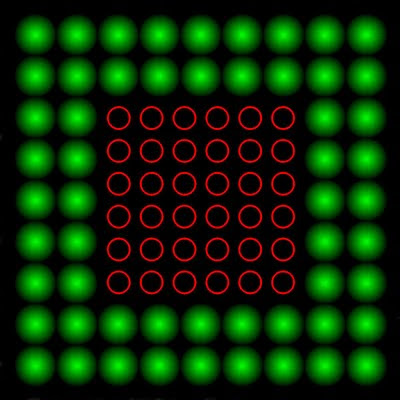 Kırmızı Elektronlar Göz Yanılması