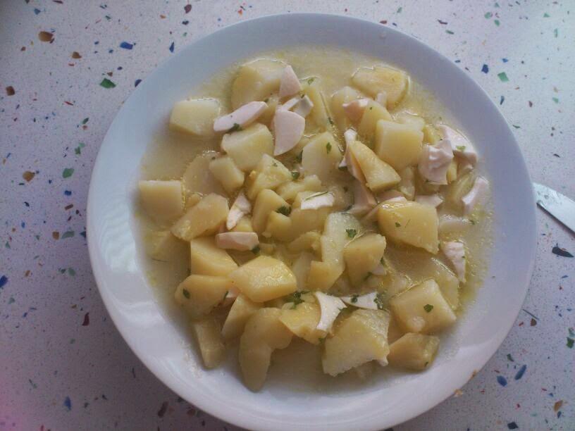 """Patatas """"Cachondas"""" O """"Gazpacho Blanco"""""""