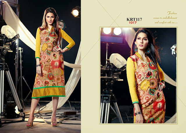 New Arrival Georgette Printed Kurti – Wholesale Supplier