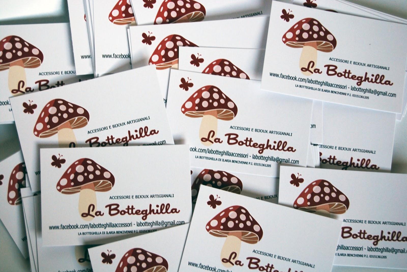 Connu La Botteghilla: Bigliettini da visita PH59