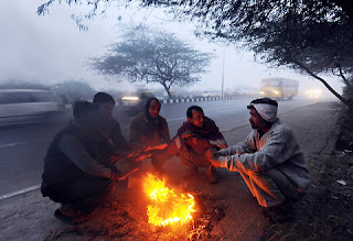 """Chilly_cold_In_Uttar_Pradesh_India"""