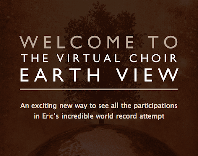 Eric Whitacre's Earth View Virtual Choir