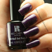 Red Carpet Manicure Gel Polish Scandalous Swatch
