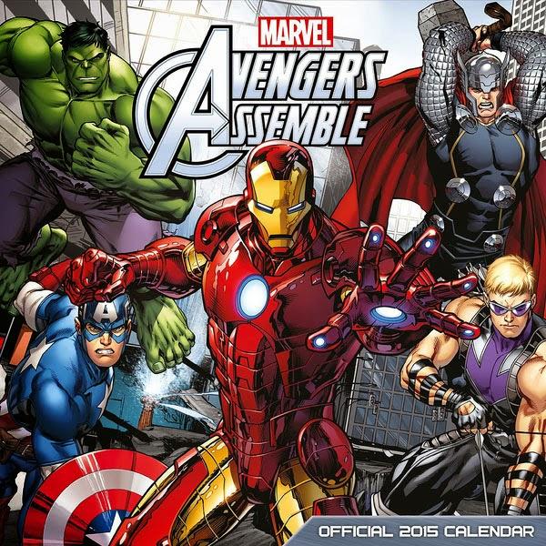Calendario 2015 Los Vengadores