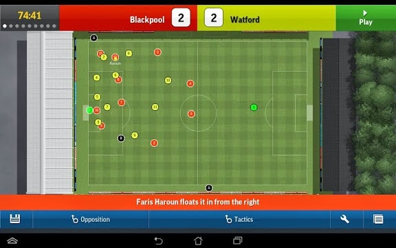Football Manager Handheld 2015 Gameplay