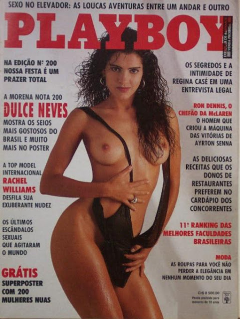 Dulce Neves - Playboy 1992