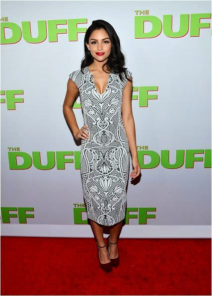 Bianca Santos at The Duff Premiere