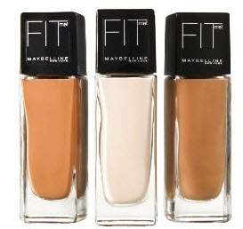 Maybelline FIT ME foundation shades swatches!