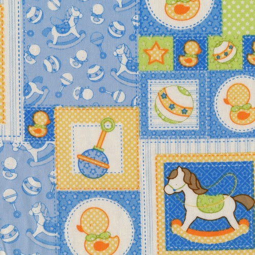 Inspired by Fabric: Baby Talkx2