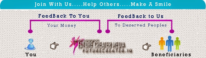 Futurecreater.in Charity Program - Give a Little...Make a Big Difference....Be an Owner of a Cute Smile