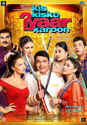 Kis Kisko Pyaar Karu 2015 Hindi HDRip 480p 400mb ESub compressed small size free download at world4ufree.cc