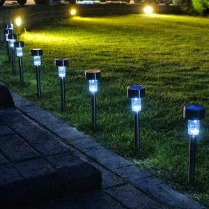 Jual Lampu Taman LED Solar Cell Tenaga Matahari
