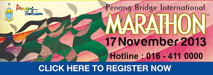 Penang Bridge International Marathon 2013