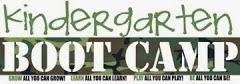 KINDERGARTEN BOOT CAMP:  AN ACADEMY EXCLUSIVE