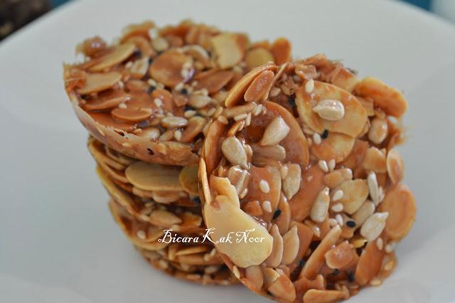 Florentine Cookies ~ Crispy Almond SEDAP SEDAP SANGAT.