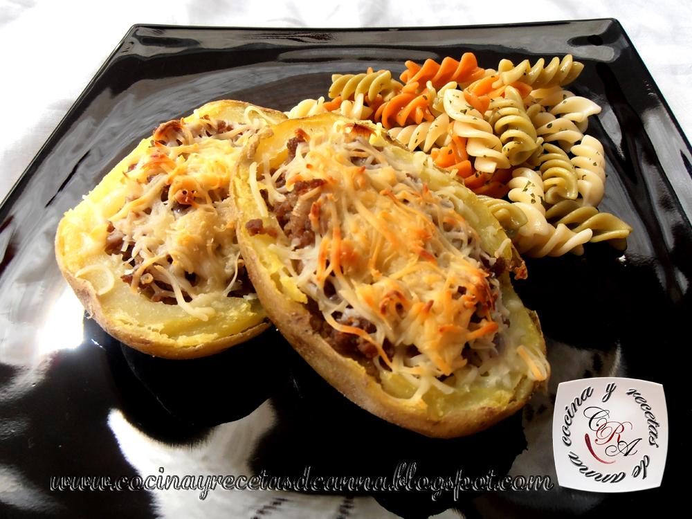 Cocina y recetas de anna patatas rellenas al horno - Patatas pequenas al horno ...
