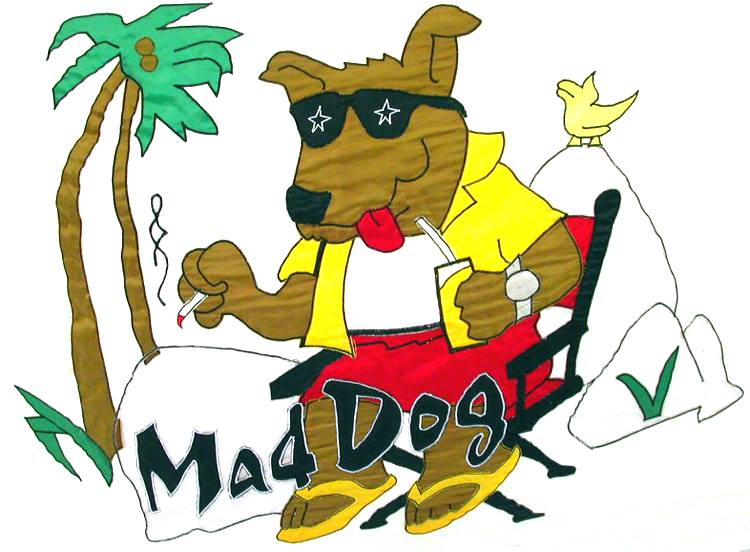 MAD DOG REST., VIRGIN GORDA, BVI  ...