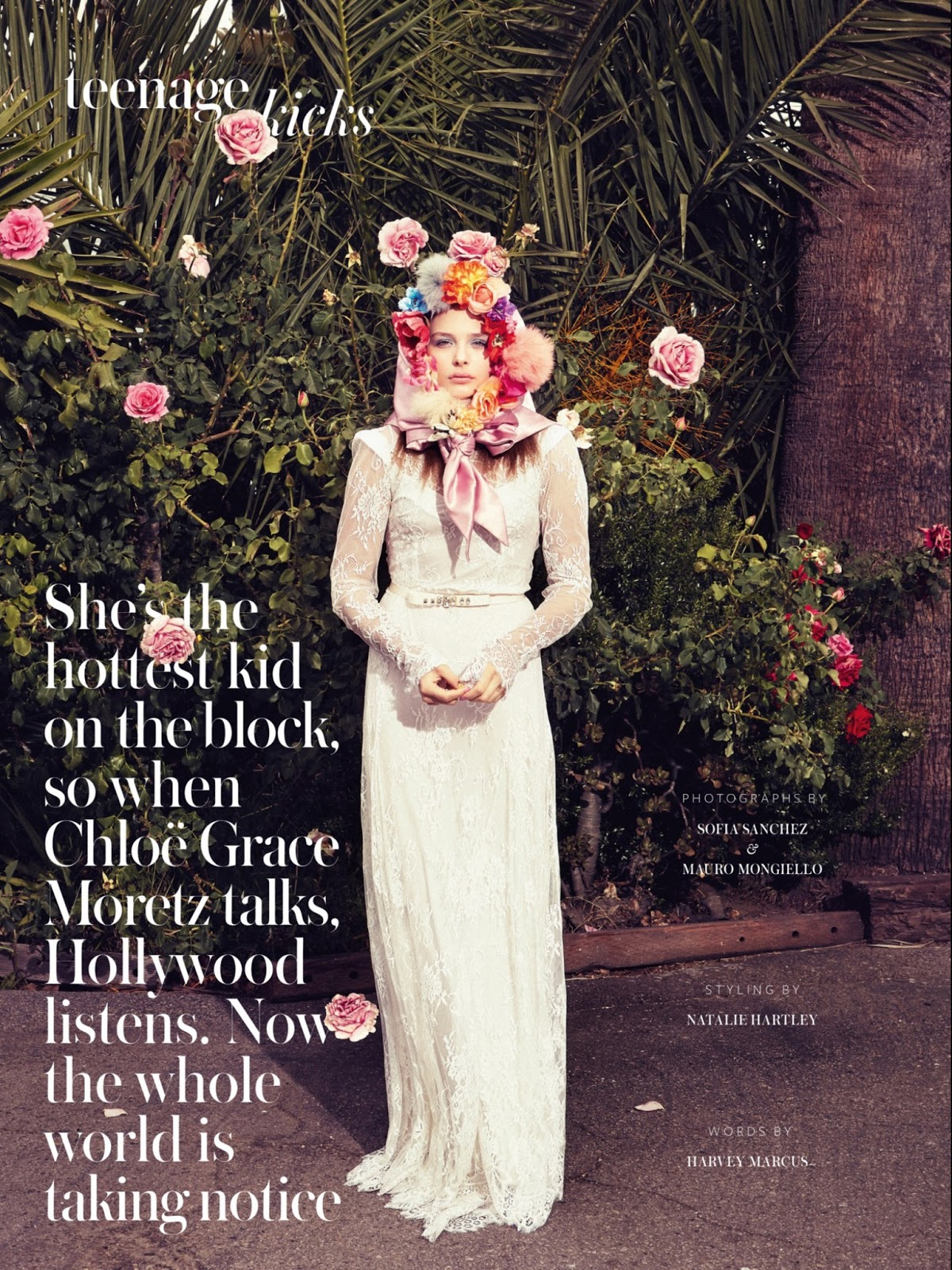 Chloe Grace Moretz   Instyle Uk Magazine August 2013
