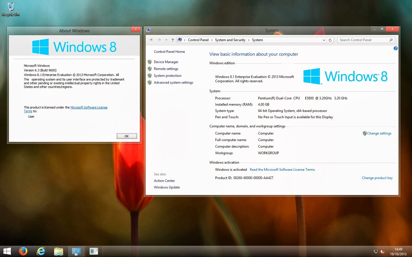 How to Remove watermark from Windows 8.1 Enterprise Evaluation