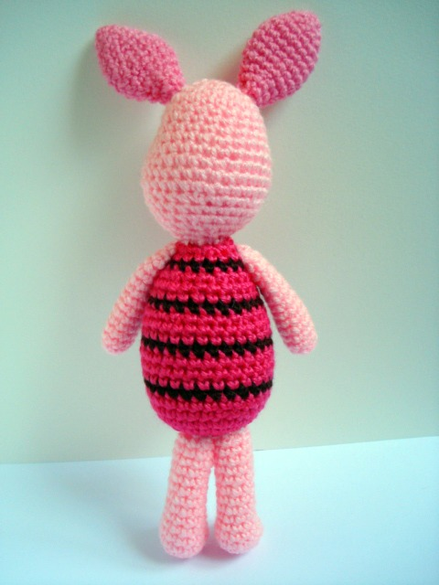Amigurumi Piglet Patterns : AllSoCute Amigurumis: Winnie the Poohs Best Friend ...