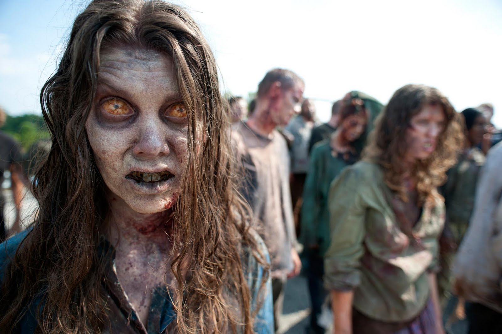 below a few pictures of the upcoming season 2 of the walking dead