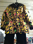 Perfect Spring jacket with splashes of color...
