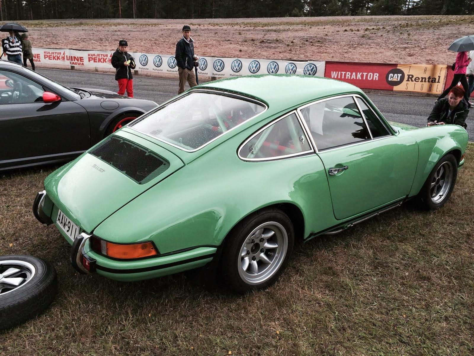 Cal And Resto 2014 Porsche Club Finland Festival