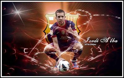 Jordi Alba Best Wallpaper 2012