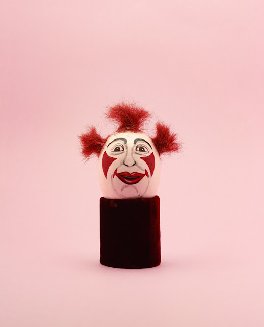 Clown Egg with red hair