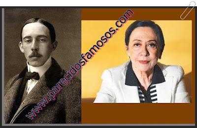 Santos Dumont con Fernanda Montenegro