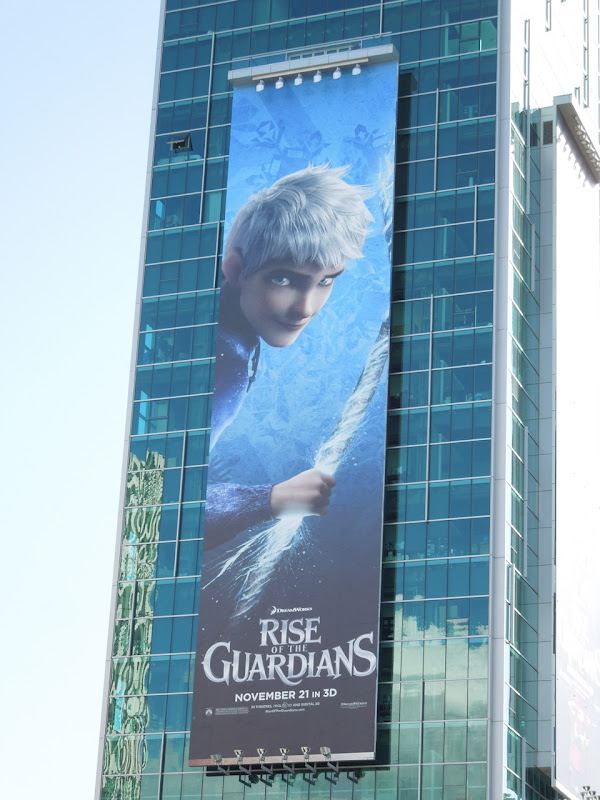 Giant Jack Frost Rise of Guardians billboard