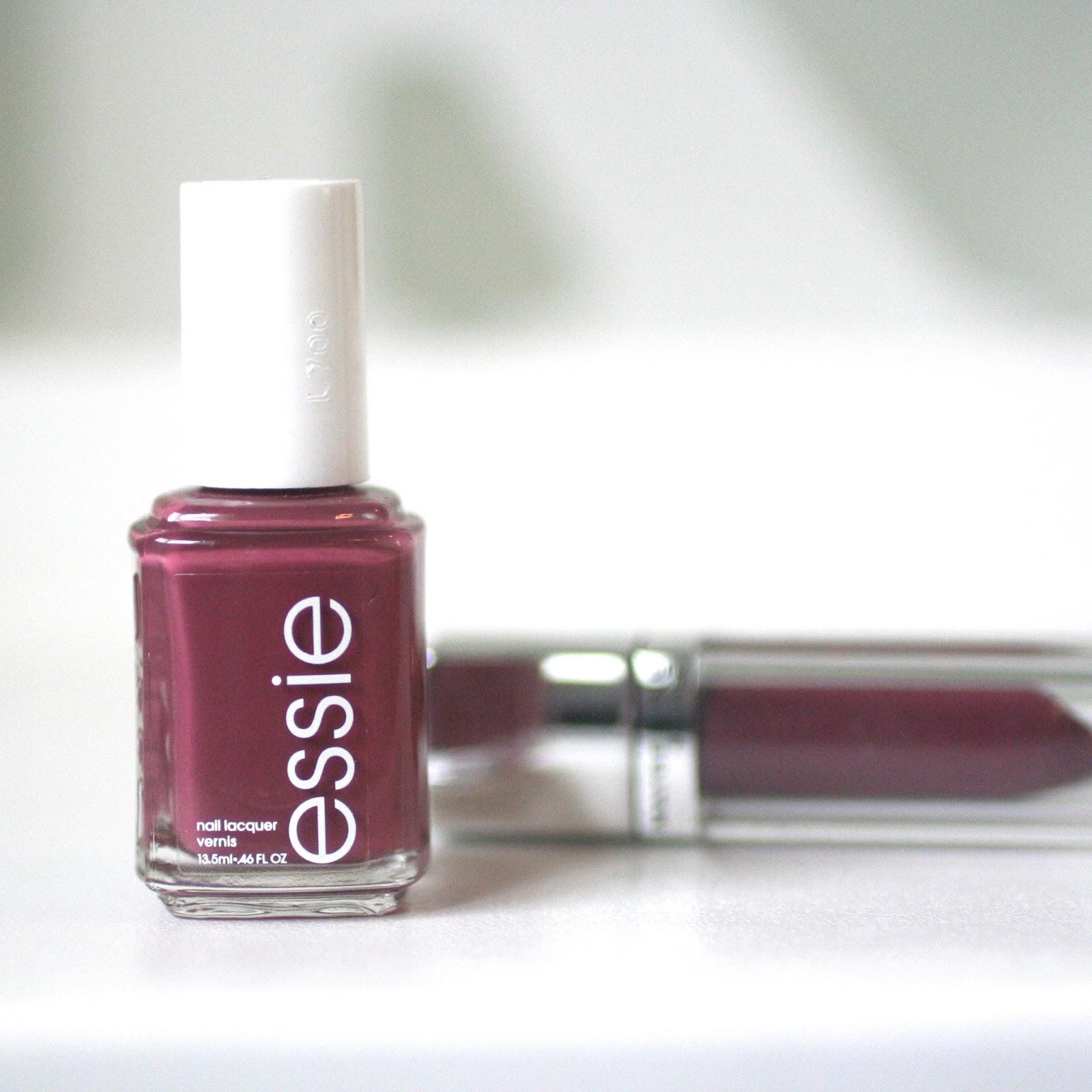 Essie Angora Cardi : Pantone Colour of the Year - Marsala | Essie Envy