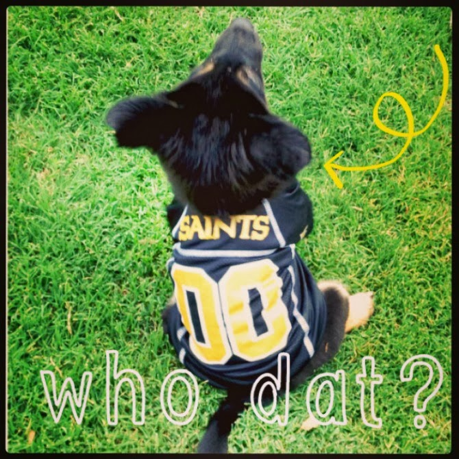 The Holland House: Brees in Saints jersey