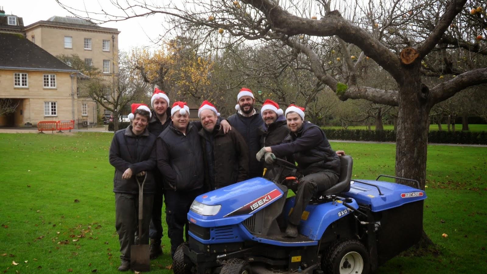 Worcester College Gardeners Privet Hedge