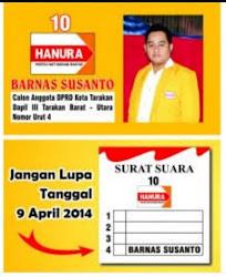 KARTU NAMA CALEG PARTAI HANURA