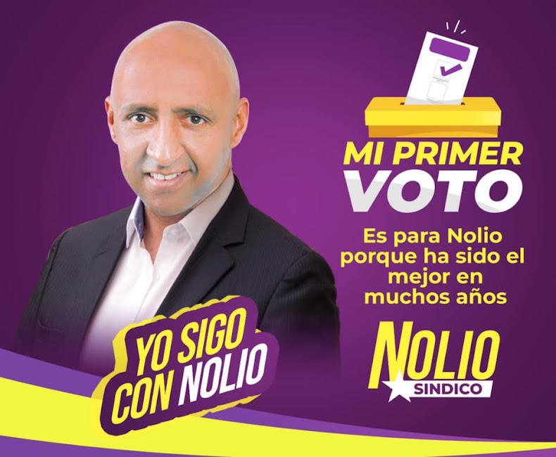 """Nolio"" De León alcalde de Bohechío 2020-2024"