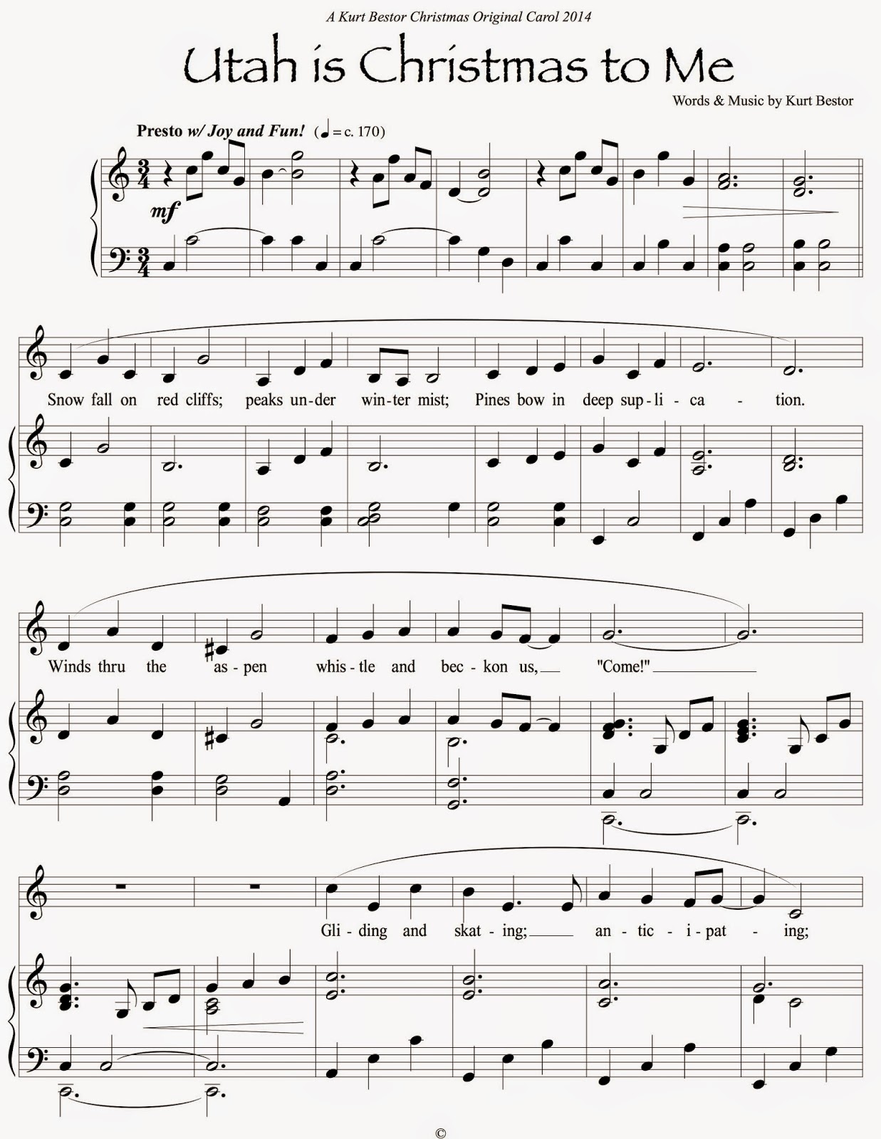 Prayer of the children the story behind the song the bestor a kurt bestor christmas 2014 original carol for download hexwebz Gallery