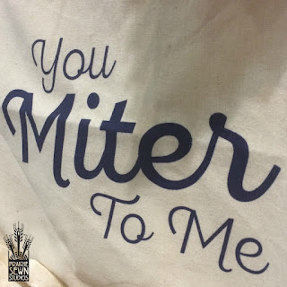 You Miter to Me