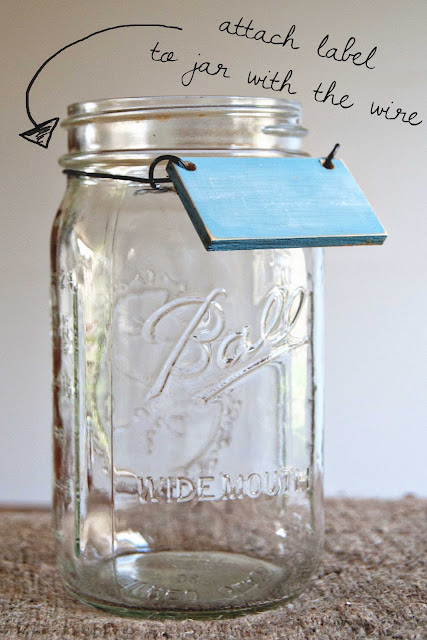 DIY Mason Jar Herb Garden Averie Lane DIY Mason Jar