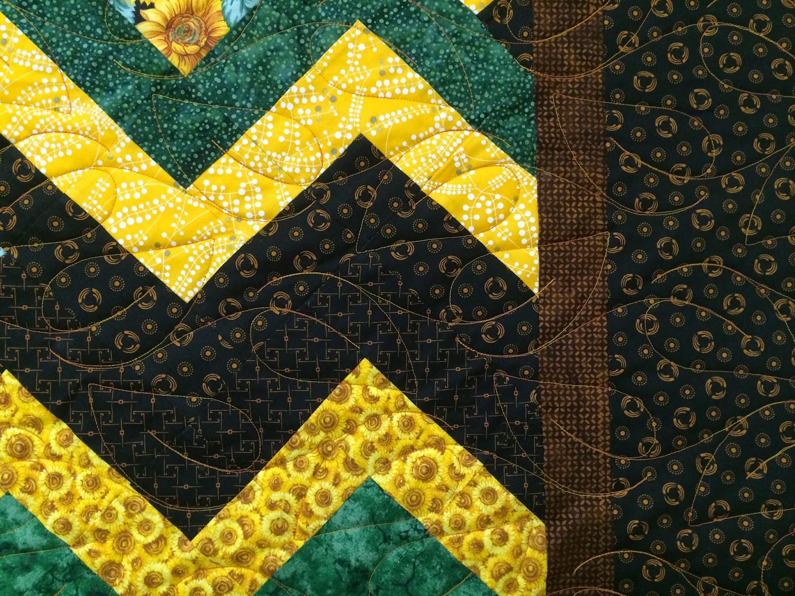 Patricia Boysen's ZigZag Quilt